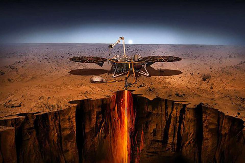 Sonda InSight detecta dois enormes terremotos em Marte