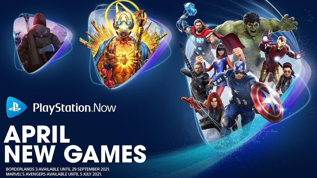 PlayStation Now recebe Avengers e Borderlands 3 em abril | Voxel