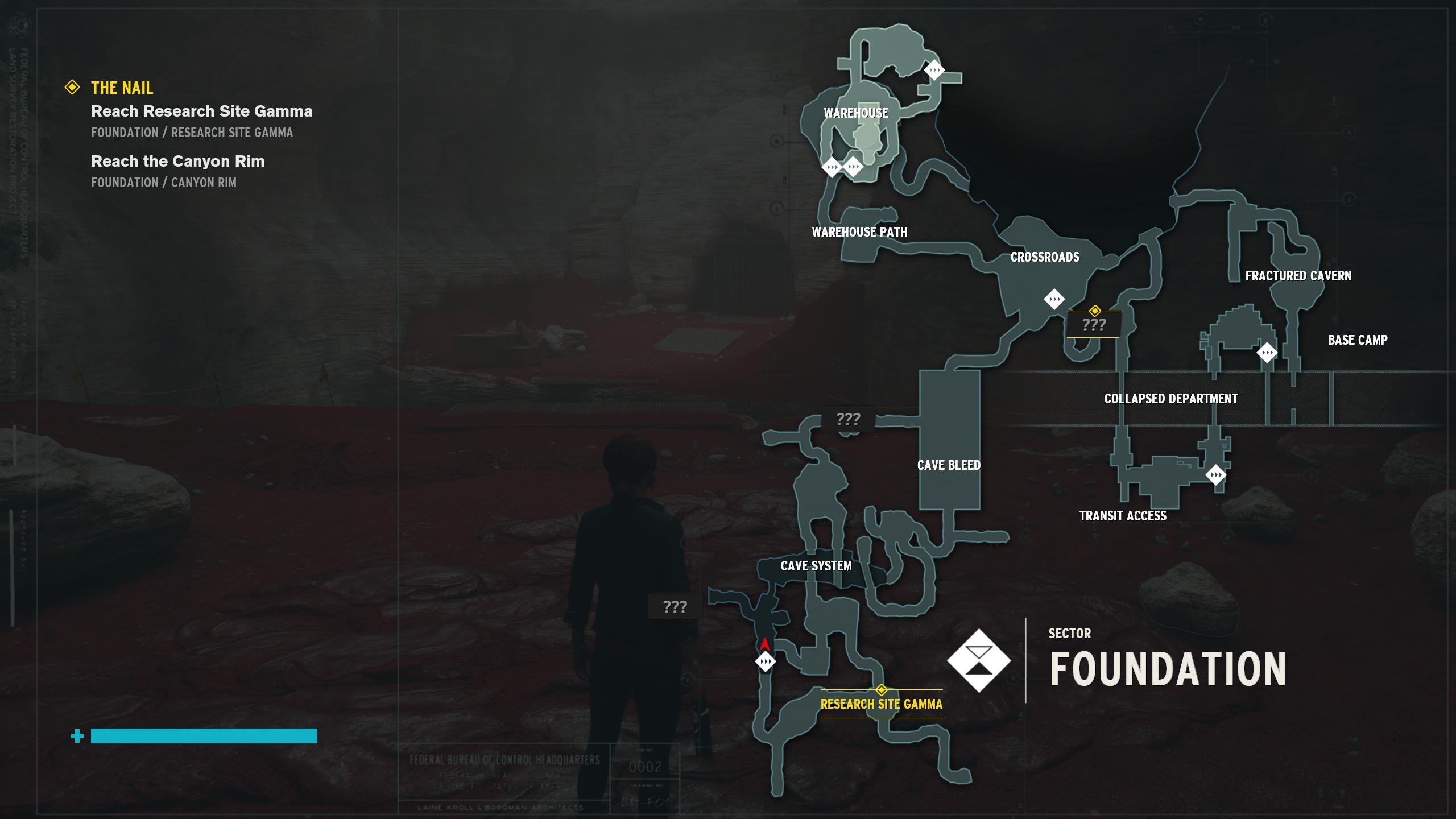 O mapa 2D de Control é um dos piores elementos do jogo