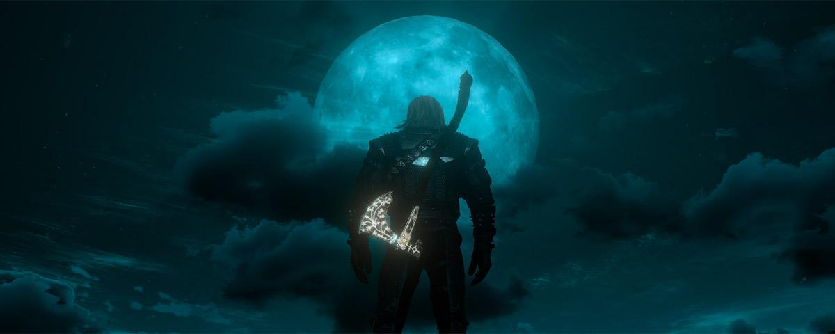 Imagem de: Mod traz machado Leviathan de God of War para The Witcher 3