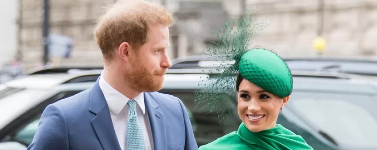 Imagem de: Netflix: Príncipe Harry e Meghan Markle já têm série em vista