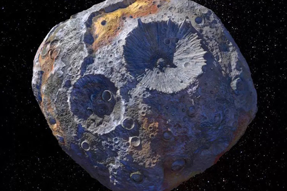 Conheça a missão Psyche para a exploração de asteroide metálico