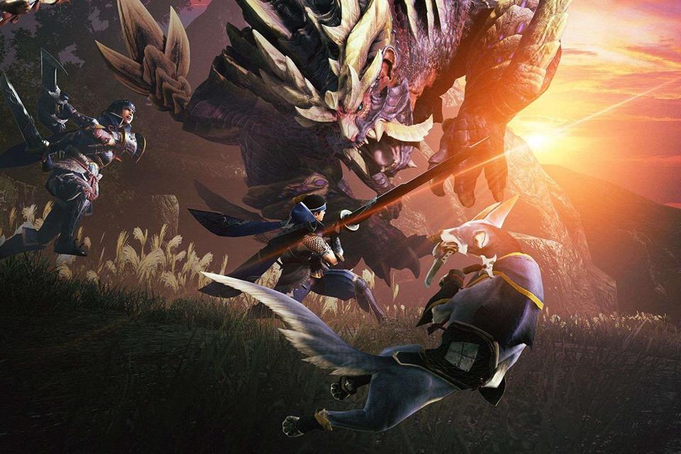 Monster Hunter Rise recebe pacote celebrativo de itens