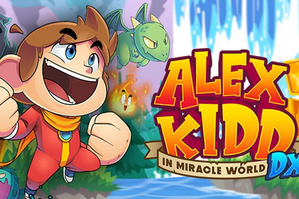 Alex Kidd in Miracle World DX chega em junho e em PT-BR!