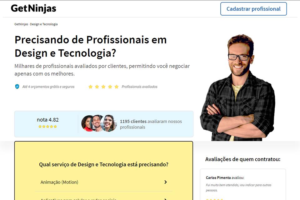 GetNinjas: como funciona a contratação de serviços na plataforma