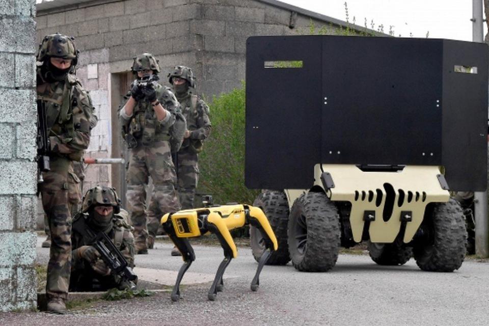 Cão-robô da Boston Dynamics faz teste de combate com exército francês