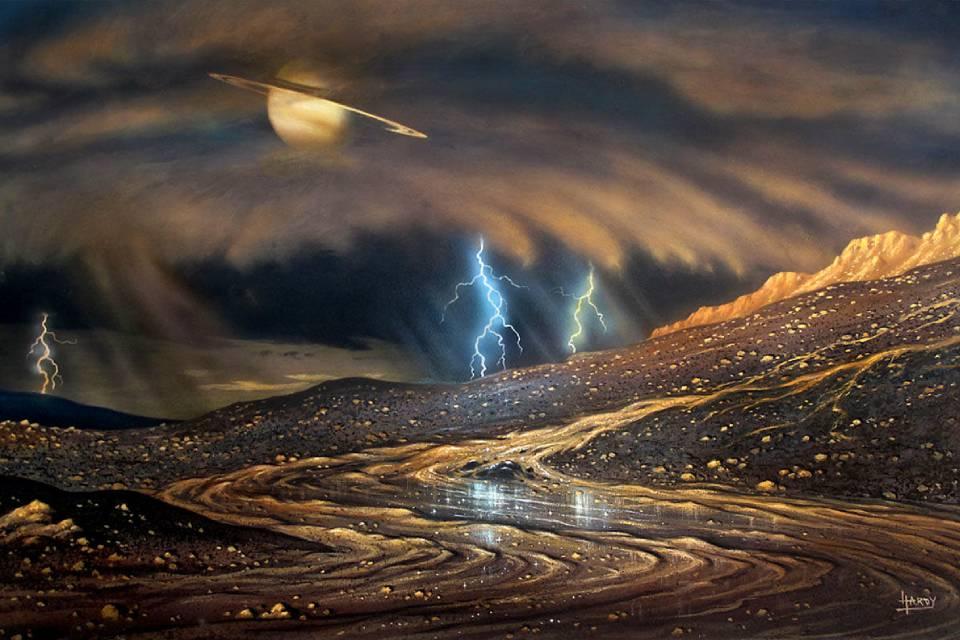 Chuvas de outros planetas são semelhantes às da Terra, diz estudo