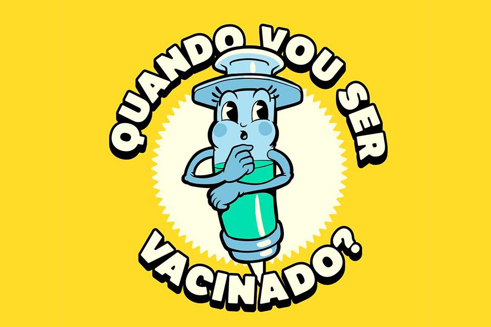 Quando vou ser vacinado? Site faz cálculo específico para brasileiros