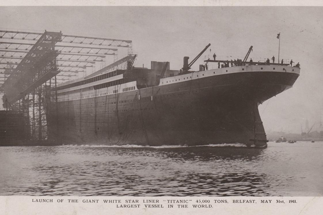 Carta escrita por 'herói' do Titanic vai a leilão por R$ 84 mil