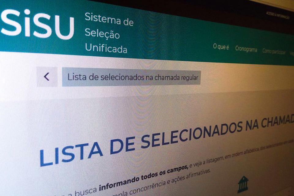 Resultado do Sisu 2021 para o 1º semestre sai hoje (16)
