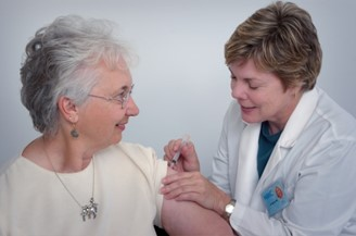 In the USA, the elderly are also a priority in influenza vaccination.
