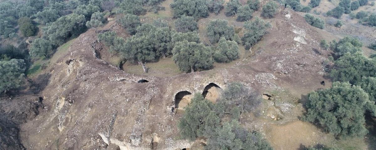 Imagem de: Arena de gladiadores de 1,8 mil anos é descoberta na Turquia