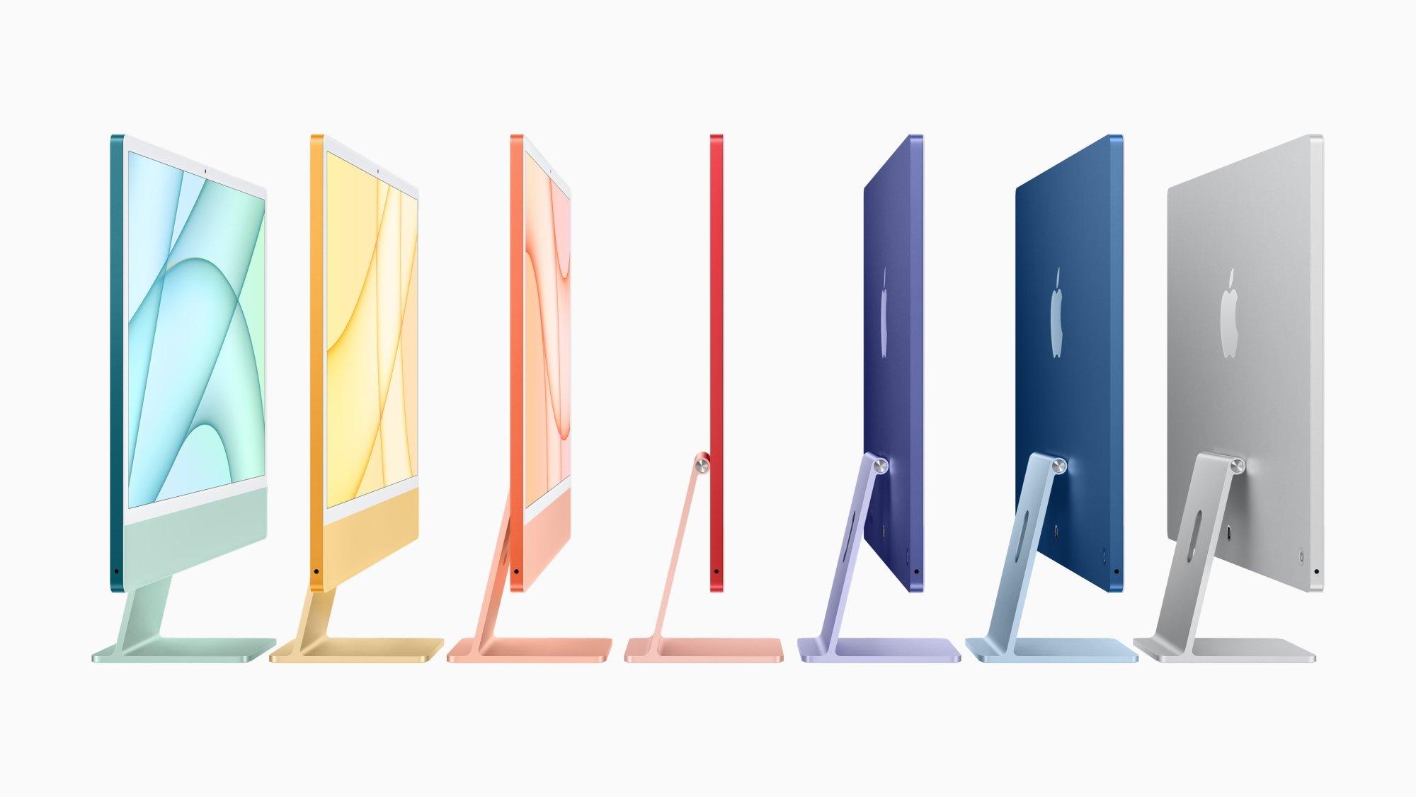 Detalhes do novo iMac foram divulgados antes do anúncio oficial.