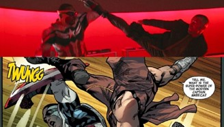 In the comics, the scene in question was illustrated by Stuart Immonen and developed by Rick Remender. (Disney + / Marvel / Reproduction)