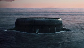 The maximum security prison is located in the middle of the ocean. (Disney + / Reproduction)