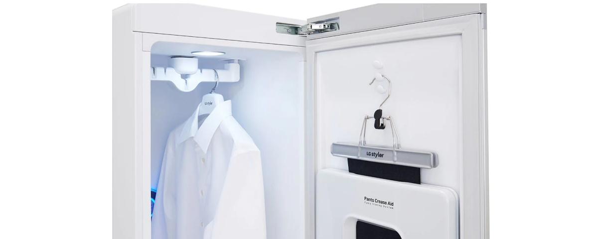 LG lança closet altamente tecnológico no país