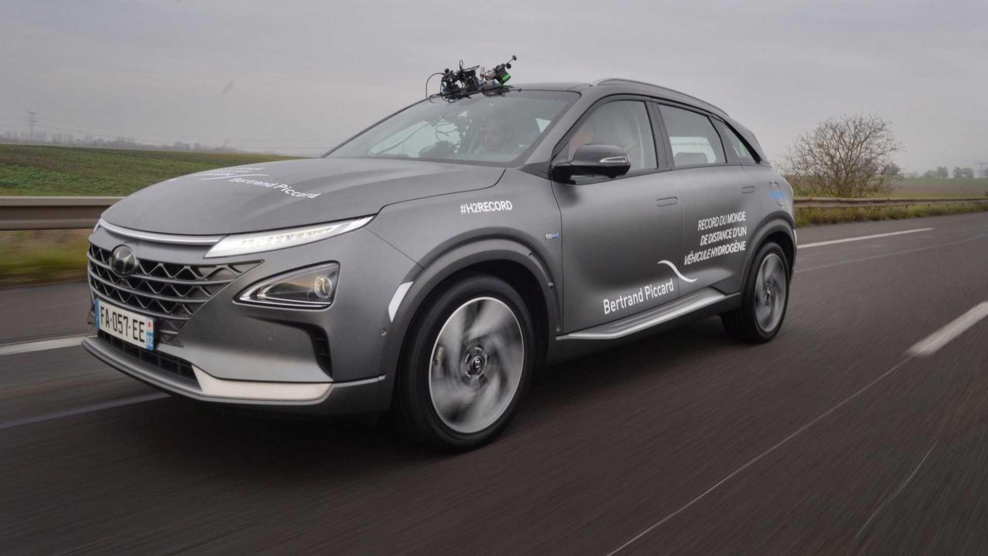 Hyundai Nexo é um dos modelos de sucesso movido a células de combustível.