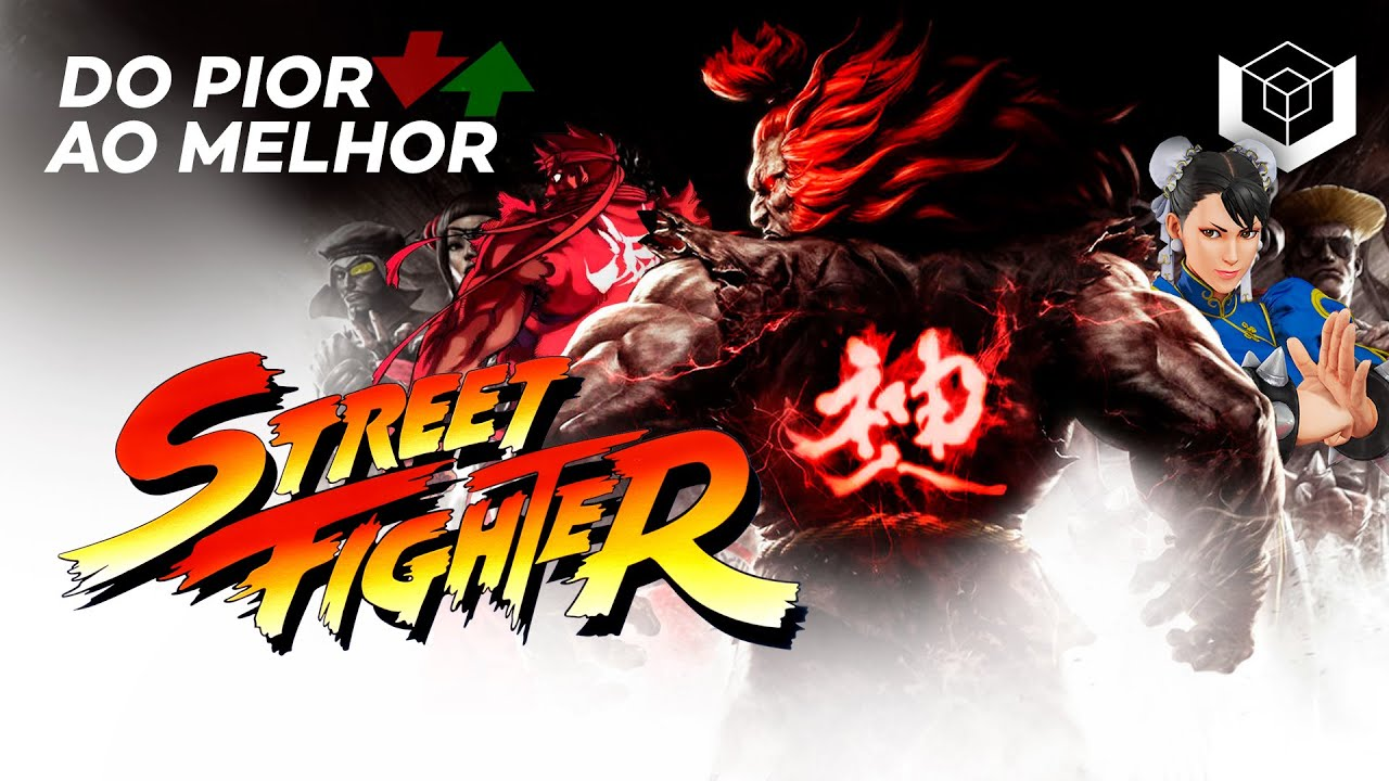 Street Fighter: do pior ao melhor, segundo a crítica