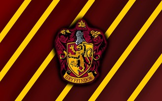 The Gryffindor emblem is inspired by British coats of arms.