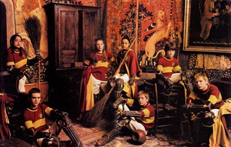 Gryffindor students are often courageous and determined.