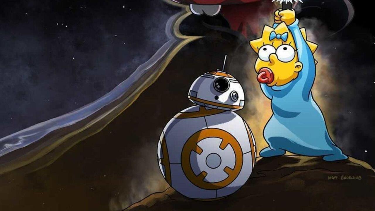 Star Wars Day: Disney celebra 4 de maio com crossover com Os Simpsons