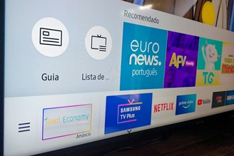 Samsung TV Plus comes pre-installed on compatible TVs.
