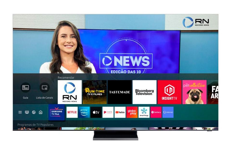 O que é Samsung TV Plus