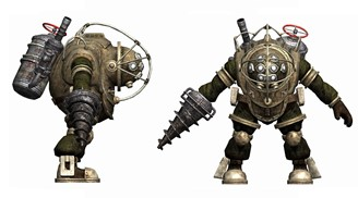The design of Big Daddy is so striking that it practically turned the face of the franchise