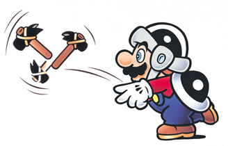 Among the various power ups of Super Mario Bros. 3, the Hammer Suit is one of the coolest