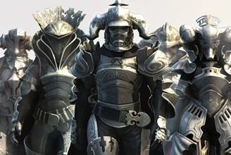 Who there has the courage to face the judges of Final Fantasy 12?