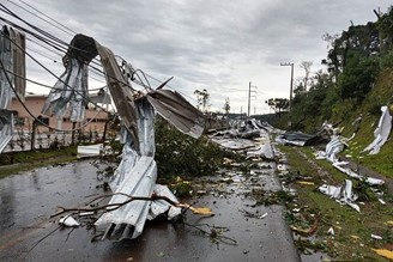 Efeitos do fenômeno no município de Chapecó/SC