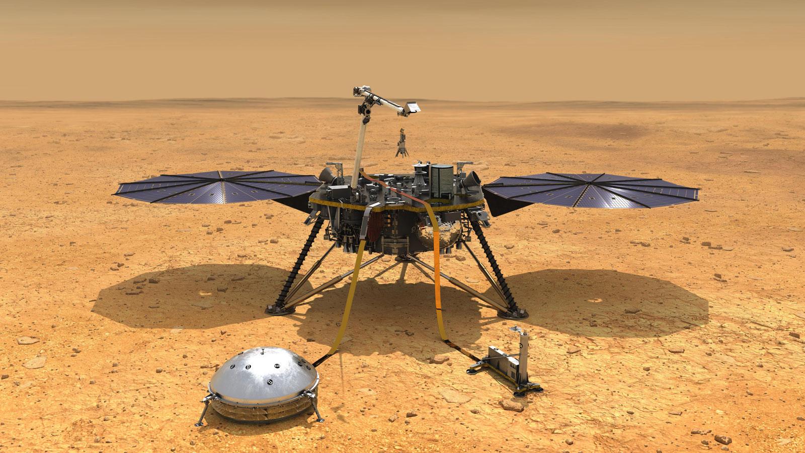 NASA's InSight probe has been on Martian soil since 2018.