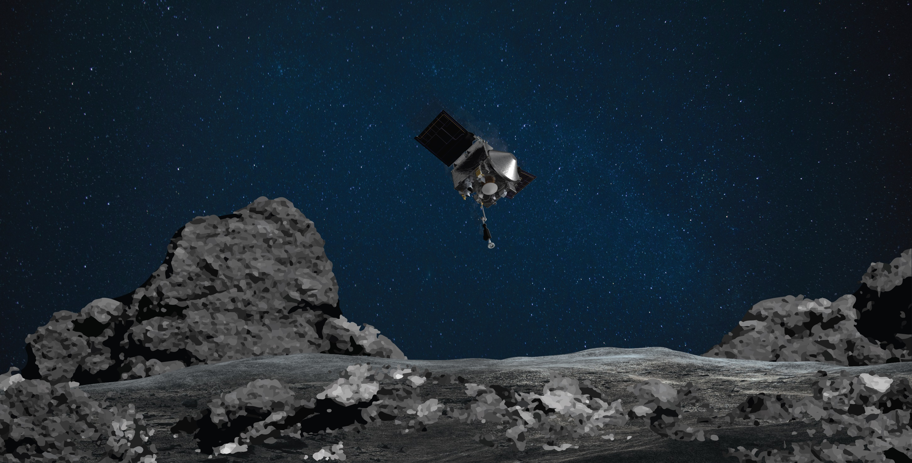 NASA: Osiris-Rex inicia volta à Terra com amostra do asteroide Bennu