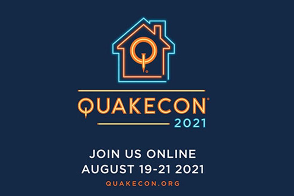 QuakeCon 2021 é confirmada para agosto em formato digital