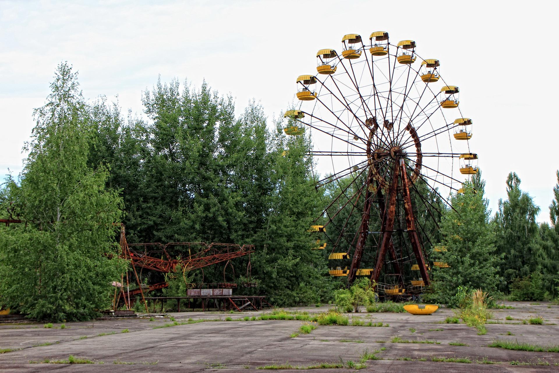 Uninhabitable for humans, but an amusement park for wildlife.
