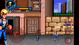 The first three games in the Double Dragon franchise are available for iOS and Android