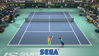 Virtua Tennis has a free mobile version with enchanting graphics