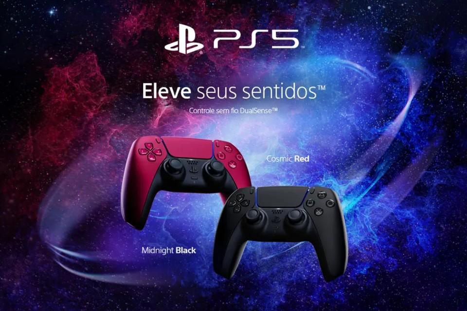PS5: controle DualSense receberá duas novas cores em junho