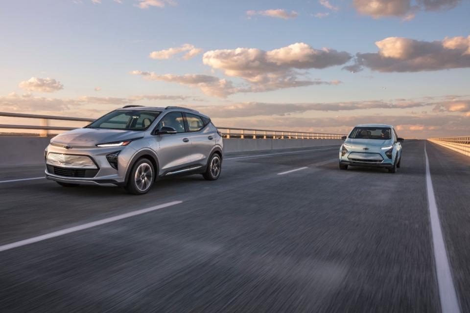 Chevrolet Bolt EUV é certificado nos EUA com 397 km de autonomia