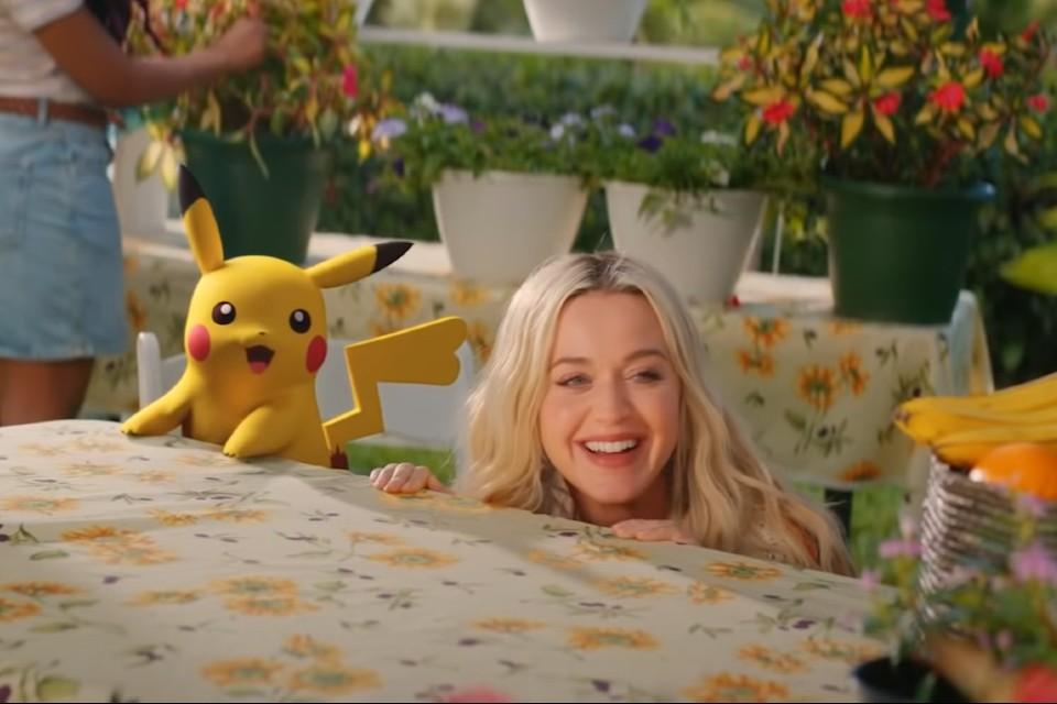 Pokémon: Katy Perry lança clipe de Electric junto com o Pikachu!