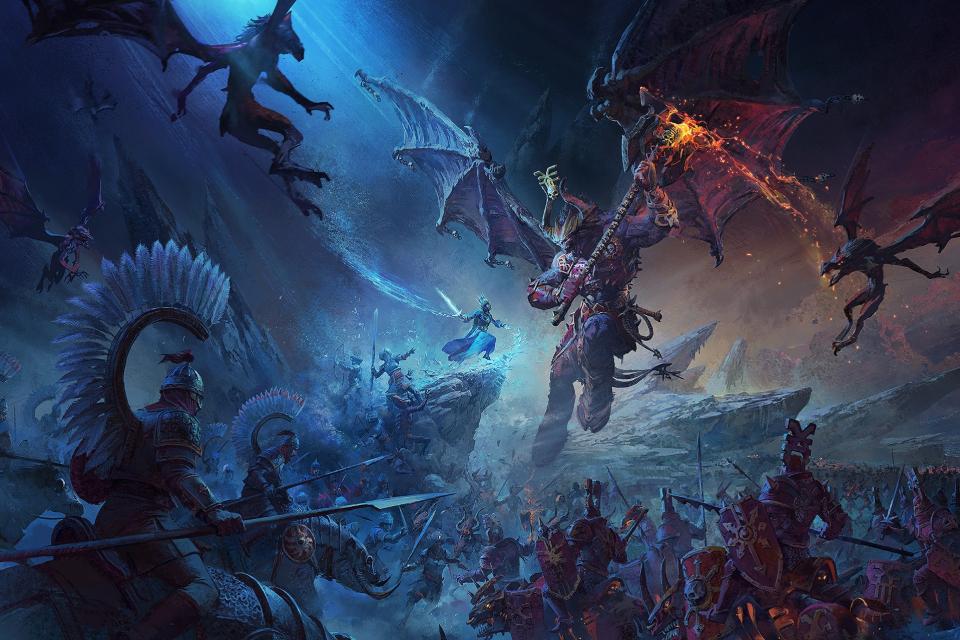Total War: Warhammer 3 revela gameplay e mecânicas de tower defense