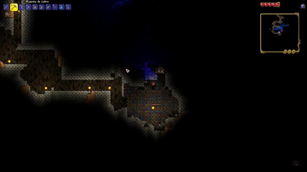 mapa do jogo terraria apk
