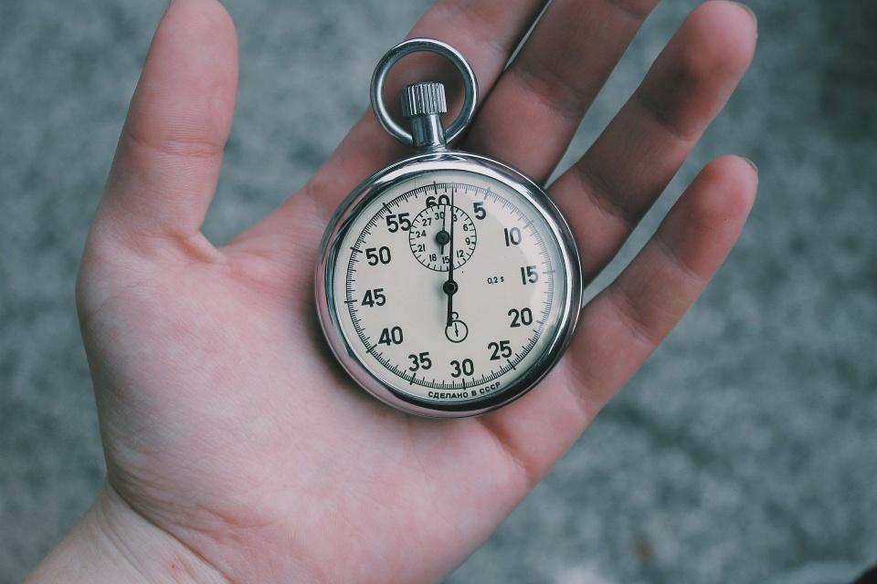Medir o tempo corretamente pode fazer o mundo acabar mais rápido