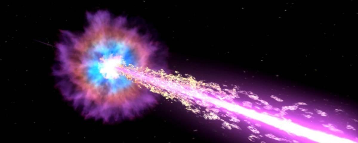 Imagem de: Cientistas detectam luz energética mais potente vista até então