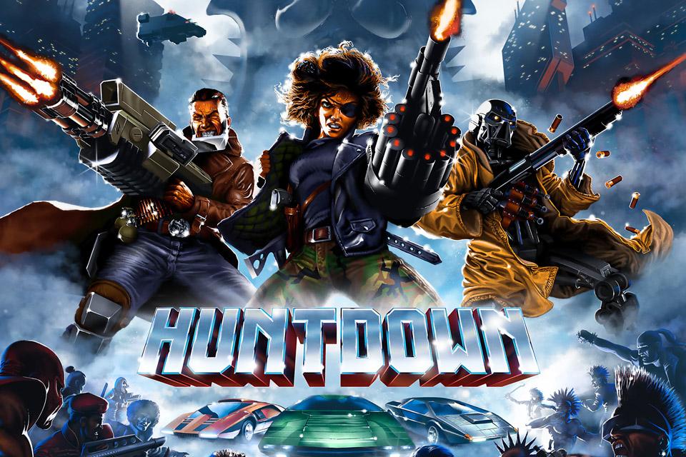 Huntdown é uma obra-prima com muito tiroteio e diversidade