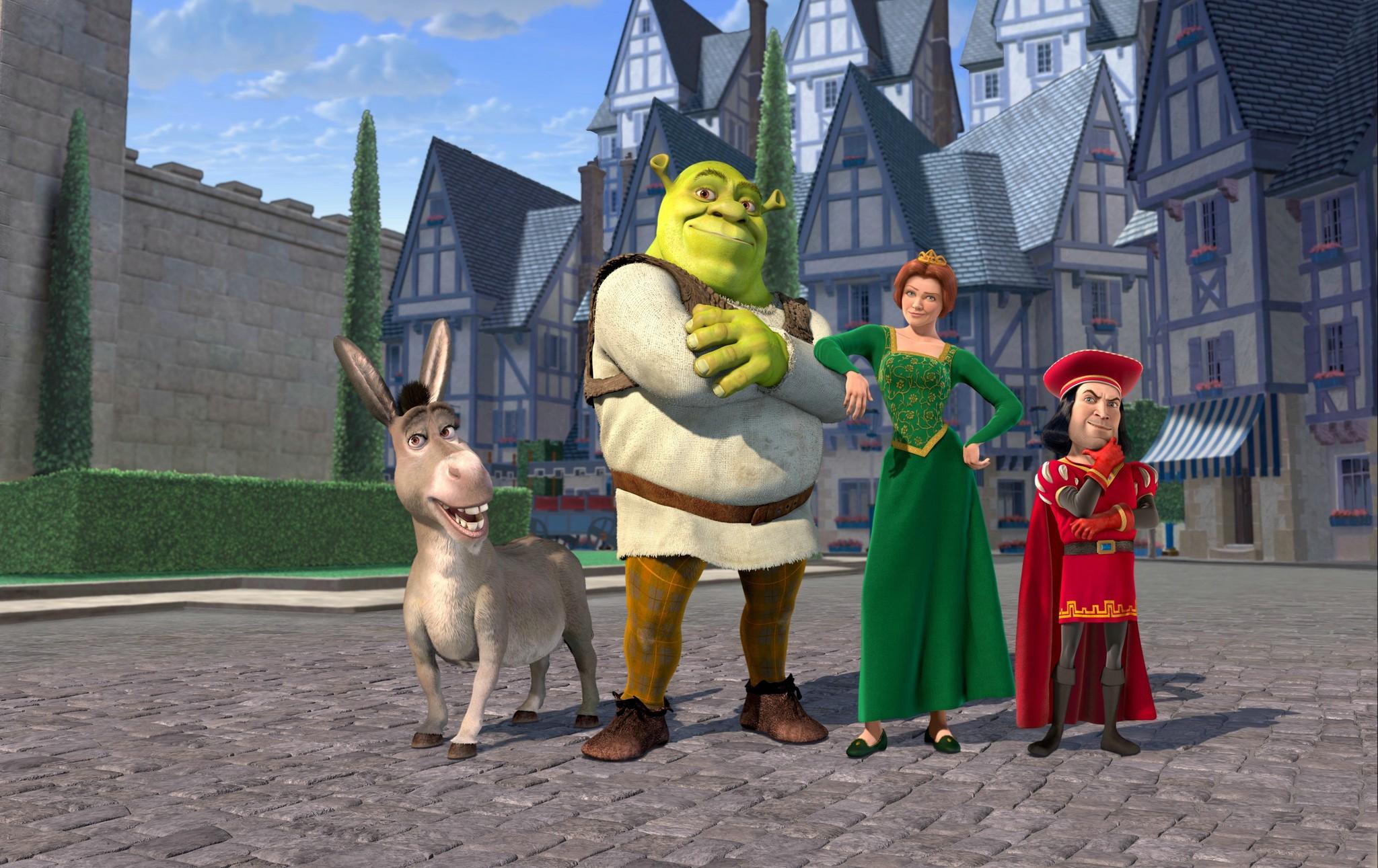 Shrek (2001).