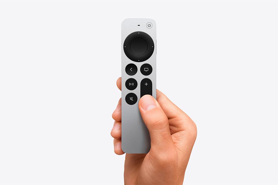 Siri Remote vem incluso na Apple TV HD e 4K.