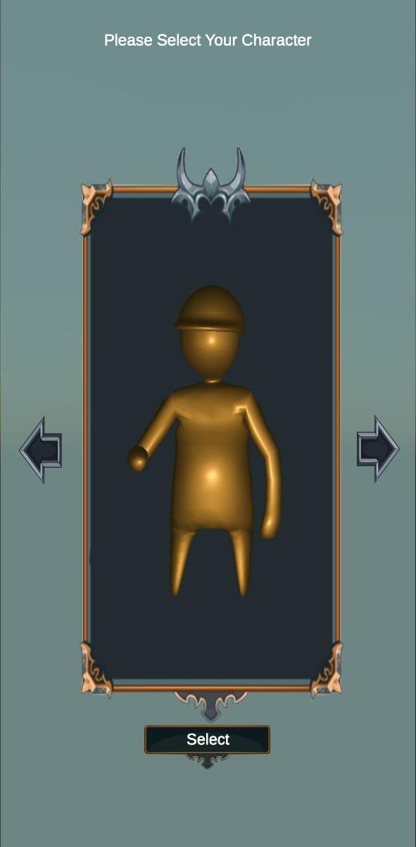 criando seu avatar em uma human fall flat apk