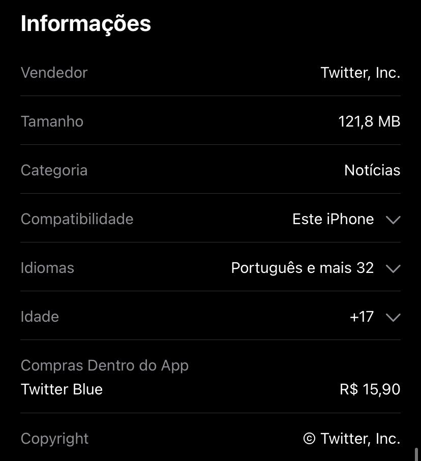 Twitter App Store