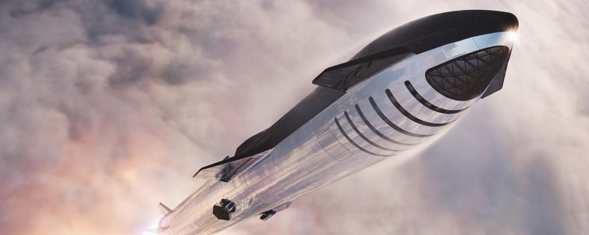 Imagem de: SpaceX inicia a construção do 1º espaçoporto flutuante